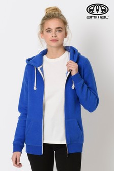 Animal Blue Palmira Zip Through Hoody