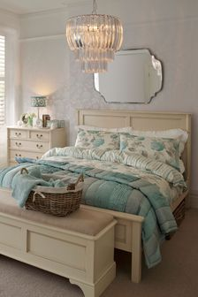 Clifton Ivory Bed Frame