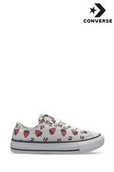 Converse Strawberry Print Youth Trainers