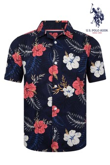 U.S Polo Assn. Hawaiian Shirt