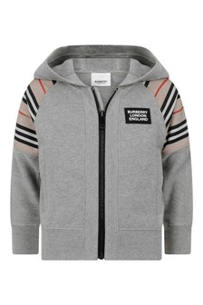 Boys Melange Cotton Sweater