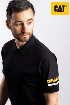 Cat® Black Essentials Polo