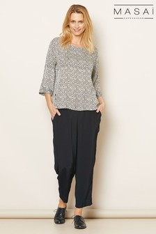 Masai Black Petrina Trousers