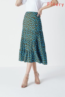 Finery Raylan Tiered Maxi Skirt