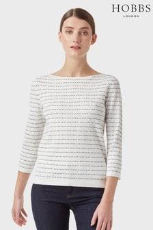 Hobbs White Robin Sweater