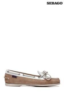 Sebago® Nina Leather Boat Shoes