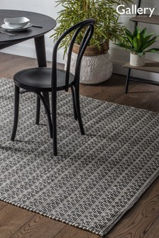 Gallery Direct Charcoal Connaught Geo Rug