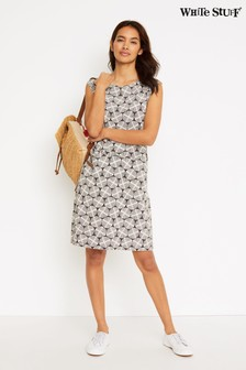 White Stuff Grey Adriana Dress