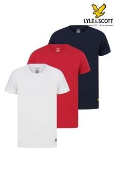 Lyle & Scott 3 Pack Lounge T-Shirts