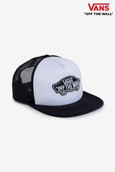 Vans White Trucker Cap