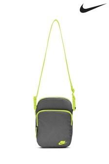 Nike Grey Heritage Small Item Bag
