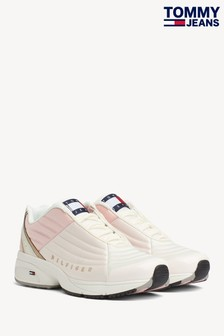 Tommy Jeans Pink Heritage Trainers