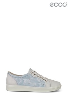 ECCO® Soft 7 W Leather Lace Trainers
