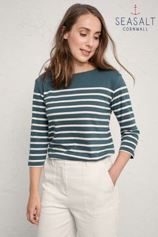 Seasalt Grey Sailor Top
