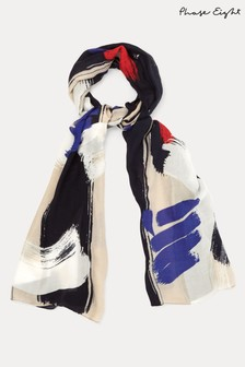 Phase Eight Multi Arna Abstract Print Scarf