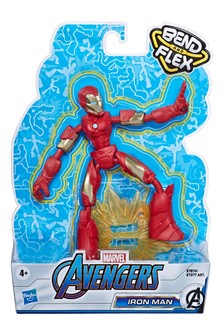 Marvel Avengers Bend and Flex Action Figure: Iron Man