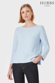 Hobbs Blue Beatrice Sweater