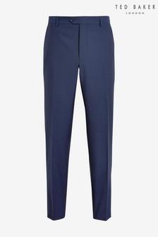 Ted Baker Diaryt Debonair Semi Plain Wool Trousers
