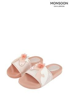 Monsoon Pink Beautiful Unicorn Sliders