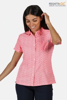 Regatta Womens Mindano Short Sleeve Shirt