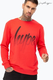 Hype. Speckle Script Men's Crew Neck Jumper