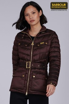 Barbour® International Cocoa Gleann Quilted Jacket