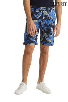 Esprit Blue All Over Print Shorts