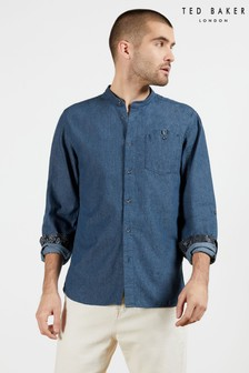 Ted Baker Hyon Grandad Collar Shirt