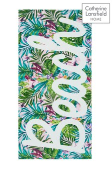 Tropical Beach Towel by Catherine Lansfield