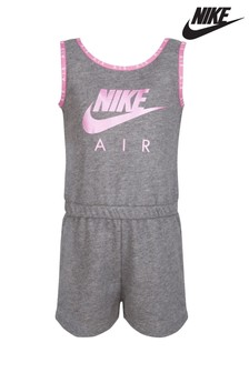 Nike Air Little Kids Grey Playsuit