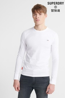 Superdry Organic Cotton Collective Long Sleeve Top