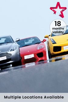 Triple Supercar Drive Gift Experience by Activity Superstore