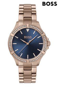BOSS Mini Sport Carnation Gold Bracelet Watch