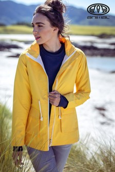 Animal Yellow Byron Lightweight Jacket