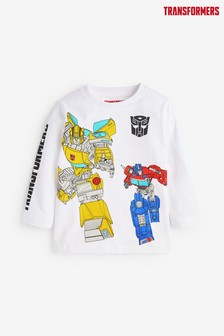 Jersey Transformers Long Sleeve T-Shirt (3mths-8yrs)