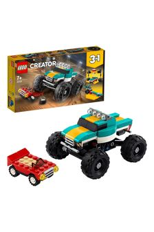 LEGO 31101 Creator 3-In-1 Monster Truck Demolition Car Toy