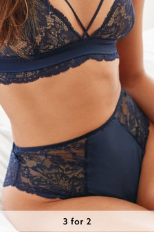 Lace And Satin Knickers