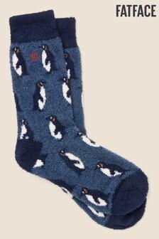 FatFace Blue Penguin Mallory Socks