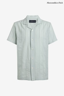 Abercrombie & Fitch Blue Striped Shirt