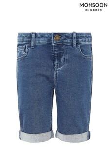 Monsoon Blue Daja Denim Shorts