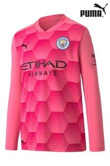 Puma® Manchester City Goalkeeper Junior Long Sleeve Jersey
