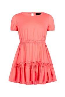 Emporio Armani Girls Pink Dress