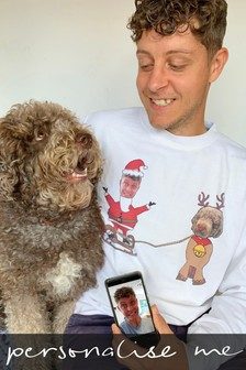 Personalised Me & My Dog Photo Jumper by Solesmith
