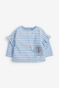 Interactive Elephant T-Shirt (3mths-7yrs)
