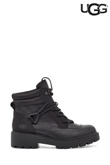UGG Black Tioga Hiker Heavy Duty Boots