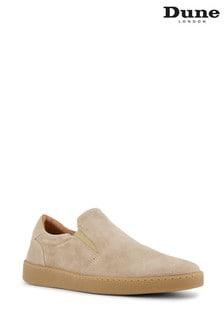 Dune London Neutral Bustler Relaxed Slip-On Shoes