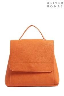 Oliver Bonas Ally Multi Change Orange Backpack