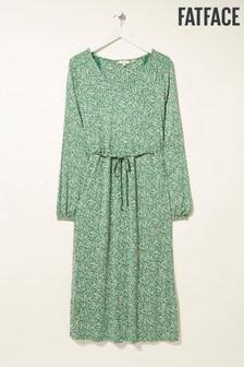 FatFace Green Gracie Confetti Ditsy Dress