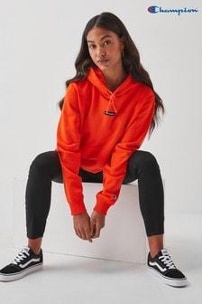 Champion Orange Hoodie