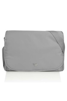 Emporio Armani Grey Baby Changing Bag